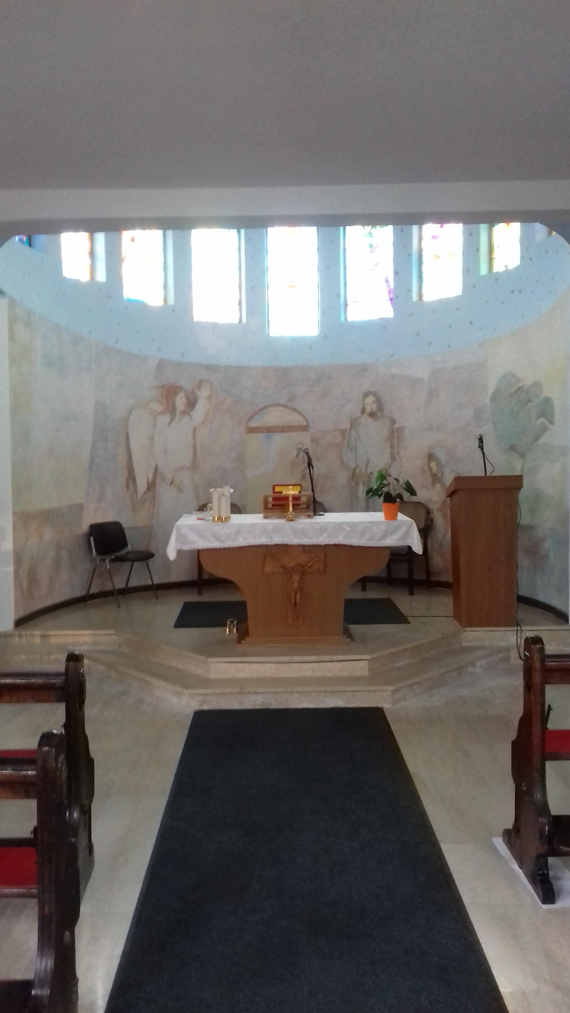 Kapela Sv. Ane Bratina unutrašnjost
